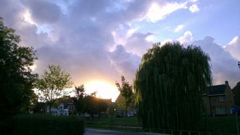 Culemborg bij zonsondergang